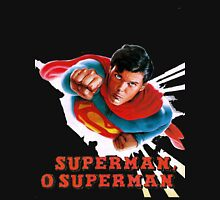 Christopher Reeve Superman O Superman  T-Shirt