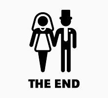 The End (Wedding / Marriage / Bridal Pair / Black) Unisex T-Shirt