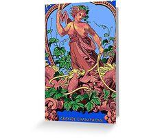 Goddess of Spirits Greeting Card