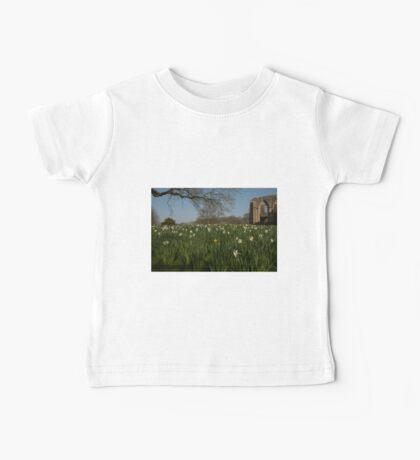 SPOT THE YELLOW - FOUNTAINS ABBEY RUINS Baby Tee