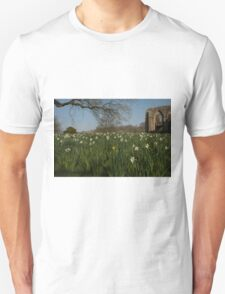 SPOT THE YELLOW - FOUNTAINS ABBEY RUINS T-Shirt
