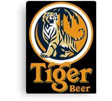 Tiger Beer Canvas Print