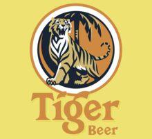 Tiger Beer One Piece - Short Sleeve