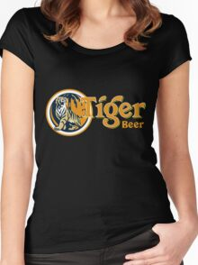 Tiger Beer Women's Fitted Scoop T-Shirt