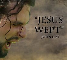 Jesus wept by sunshine0