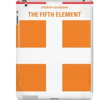 No112 My Fifth Element minimal movie poster iPad Case/Skin