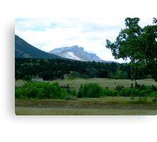 Alberta Foothills Canvas Print