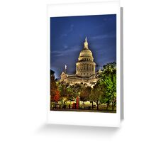 Texas Capital Greeting Card