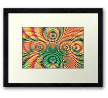 Rainbow Fractal 7 Framed Print