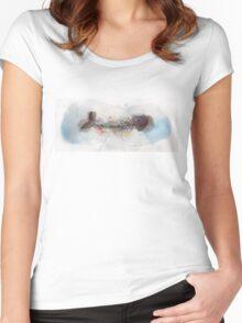 Fish Bones Tee Women's Fitted Scoop T-Shirt