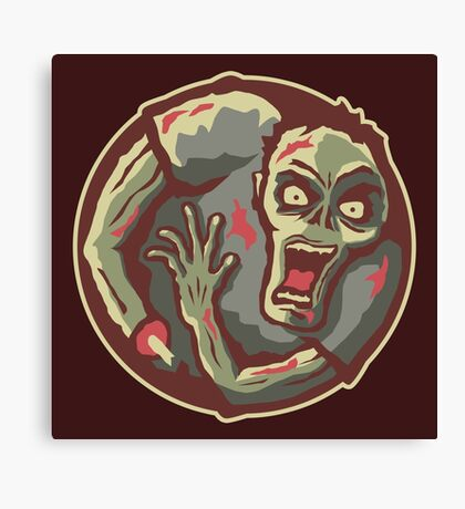 Zombies All Around Canvas Print