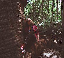 Big Tree Hug by cradlemountain