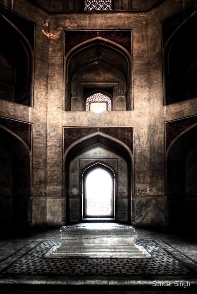 The lighted Tomb by Sundar Singh
