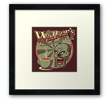 Walker's Decap Coffee Framed Print