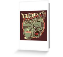 Walker's Decap Coffee Greeting Card