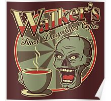 Walker's Decap Coffee Poster