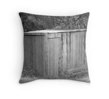 Time has moved on Throw Pillow