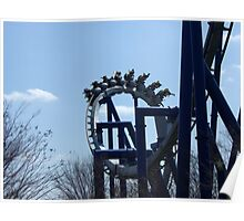 Afterburn, Carowinds Poster