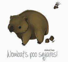Animal Facts Australia - Wombat Kids Tee