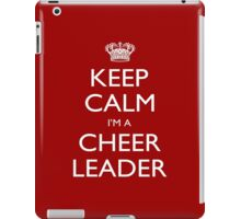 Keep Calm I'm A Cheer Leader - Tshirts, Mobile Covers and Posters iPad Case/Skin