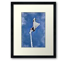 Eurofighter Typhoon - Venting ! - Farnborough 2014 Framed Print