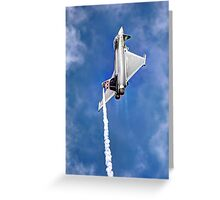 Eurofighter Typhoon - Venting ! - Farnborough 2014 Greeting Card