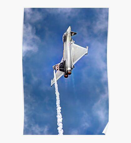 Eurofighter Typhoon - Venting ! - Farnborough 2014 Poster