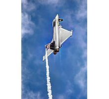 Eurofighter Typhoon - Venting ! - Farnborough 2014 Photographic Print