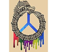Serpent God of Peace Photographic Print