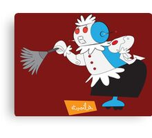 Rosie from Jetsons Canvas Print