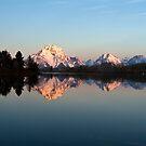 Teton sunrise by Rase Littlefield