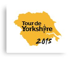 Tour de Yorkshire 2015 Canvas Print