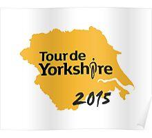 Tour de Yorkshire 2015 Poster