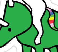 To The Disco (Unicorn Riding Triceratops) Sticker