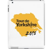 Tour de Yorkshire 2015 iPad Case/Skin