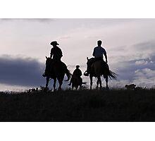 Evening Ride Photographic Print