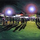 carnival crowd by maria paterson
