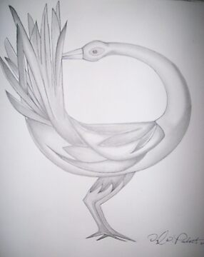 Sankofa bird by DWPickett