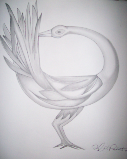 Sankofa bird by Darryl Pickett