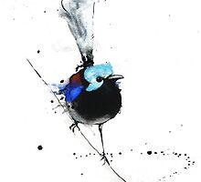 Art Sobrane Variegated Fairy Wren by Sobrane