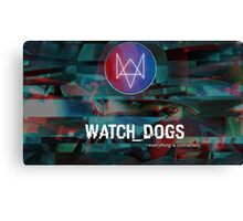 Watch_Dogs everything is connected. Canvas Print