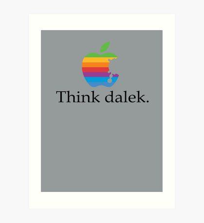Think even more dalek Art Print