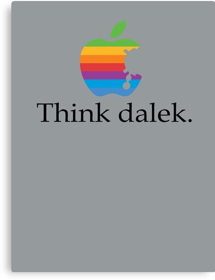 Think even more dalek by ToneCartoons