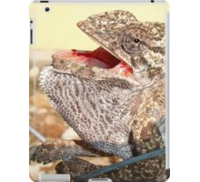 A Chameleon With Open Mouth iPad Case/Skin