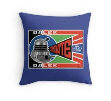 Dalek Deconstructivism Throw Pillow
