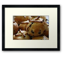 Hot Cross Buns Framed Print