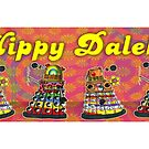 Hippy Daleks by ToneCartoons