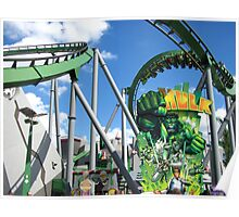Incredible Hulk, The, Islands of Adventure Poster