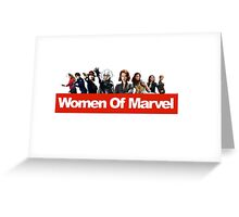 Women of Marvel Greeting Card