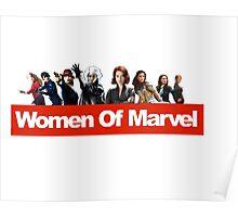 Women of Marvel Poster